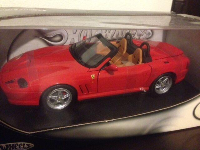 1 18 Hot Wheels rot Ferrari Barchetta Pininfarina Item   29441 Pinfarina