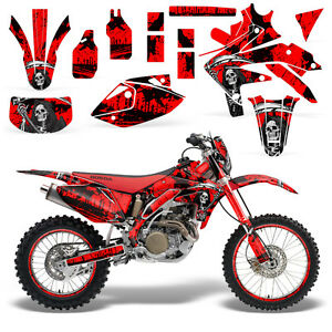 CRF450 Motocross MX Backgrounds Front /& Full Sets 450cc 2007-2010