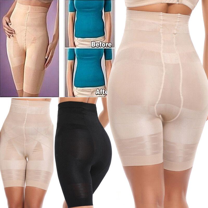 Damen Neu Miederhose Panty Mieder Po Taillenformer Bauchweg Shapewear Lift Pants