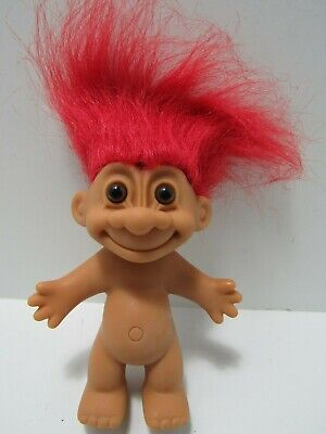 Bunny Crystroll Original Russ Vintage Troll Doll with by