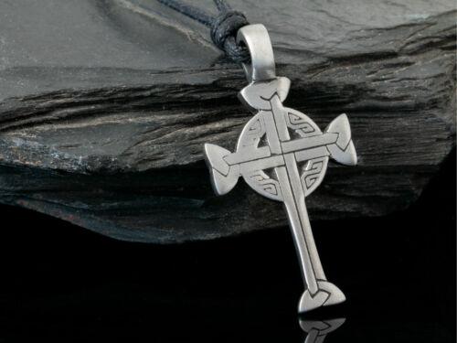Remolque de cadenas estaño cruz céltica celtas joyas amuleto remolque