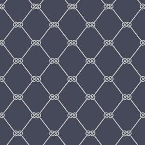 Details About G23346 Deauville 2 Rope Design White Navy Blue Galerie Wallpaper