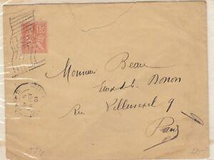 FRANCIA-1900-STORIA-POSTALE-ESPOSIZIONE-FLAG-Annulla-nella-cover-X9507