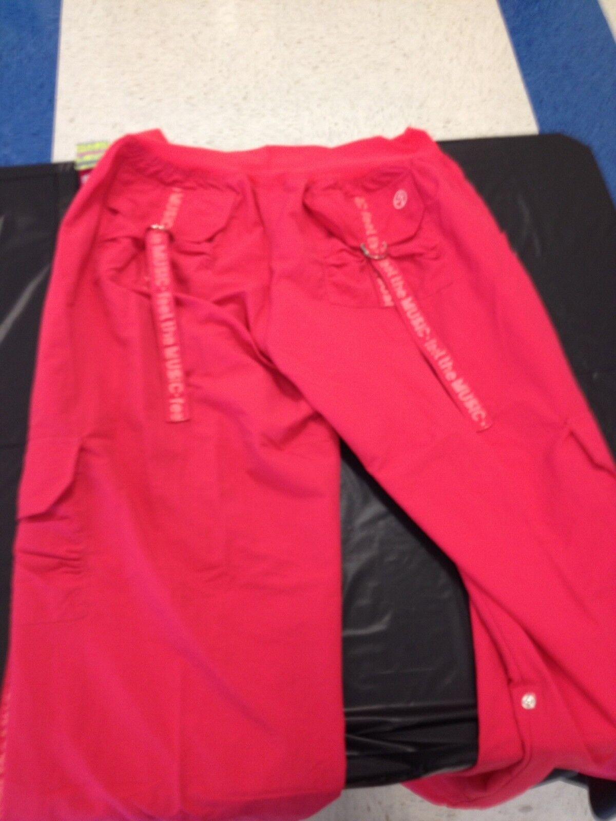 Women's Pants License Zumba Apparel Salmon-Pink XL