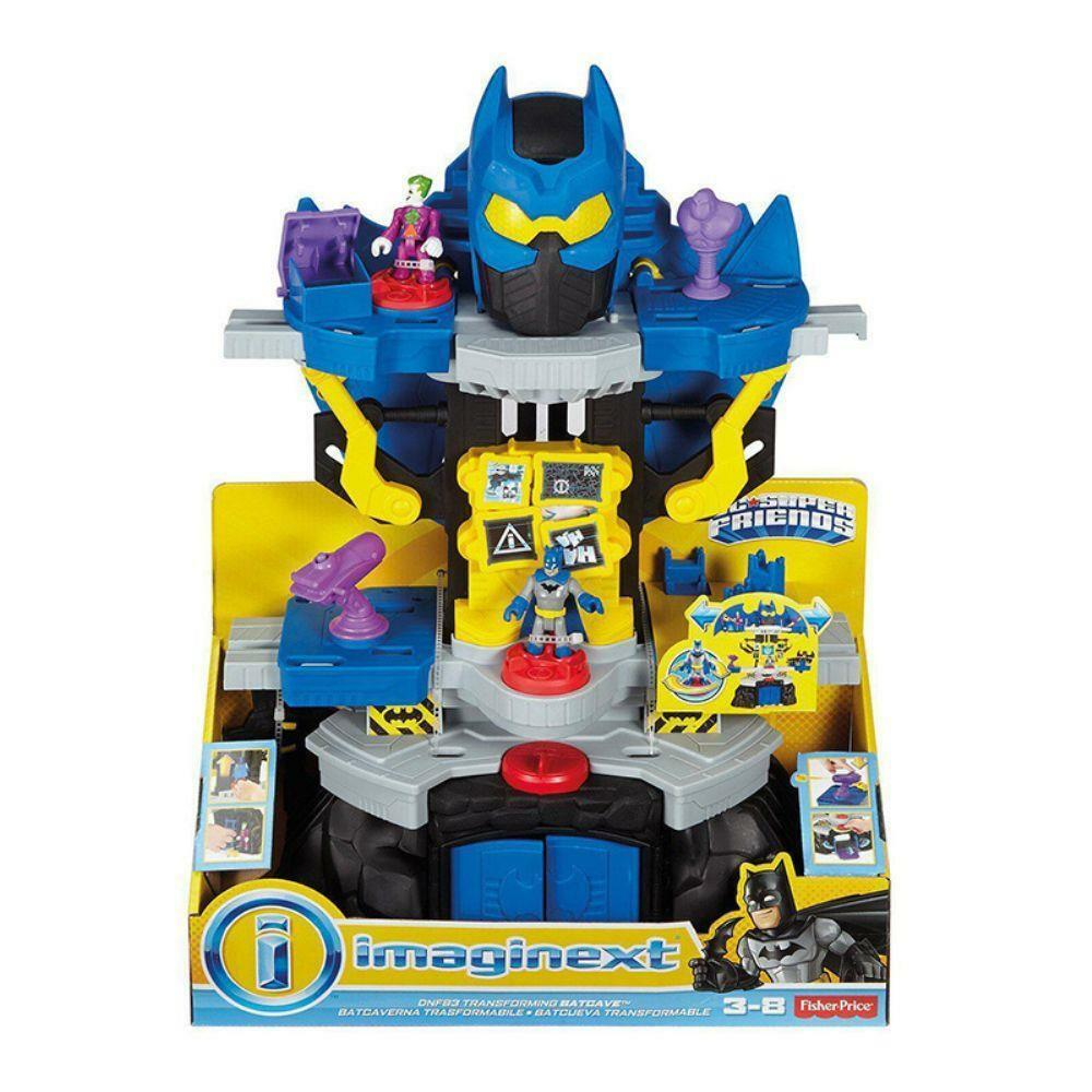Imaginext DC Super Friends Transforming Batcave Christmas Birthday Gift