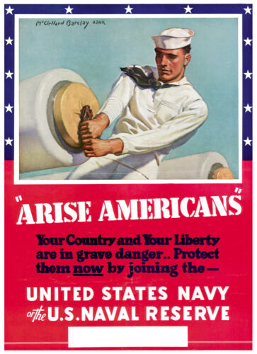 S Naval reserve U Graphic Design Decor US Navy Poster 1773 Home Wall Art