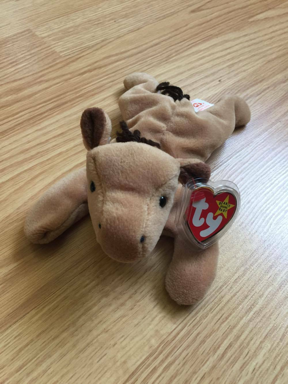 Derby Beanie Baby WITH ERRORS - RARE 1995