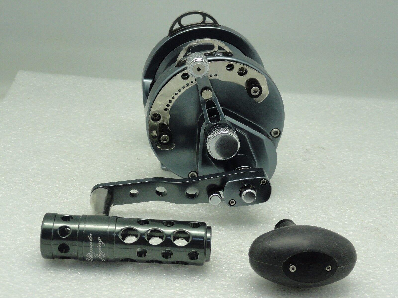 UJ T052A T-BAR handle knob direct fit Avet SX MXL LX HX MC Raptor reel GUNMETAL