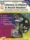 Literacy in History and Social Studies, Grades 6 - 8: Learning Station Activities to Meet Ccss by Schyrlet Cameron, Suzanne Myers (Paperback / softback, 2014)