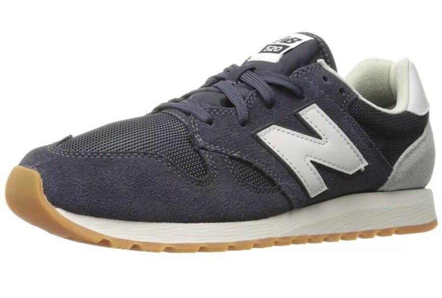 New Balance 520 Navy Blue/White/Gum Uomo's Size 12 Shoe  U520AK New!