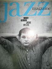 JAZZ MAGAZINE N° 109 HUMAIR WOODY HERMAN JACKIE MC LEAN BEIDERBECKE S STITT 1964
