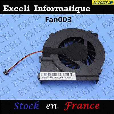 Ventilateur HP CPU Pavilion 1330dx g7 Fan Refroidissem OzwOqr
