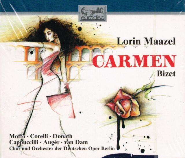 Bizet: Carmen / Maazel, Moffo, Corelli, Donath - CD