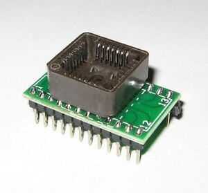 PLCC28-to-DIP24-ADAPTER-SUPPORTS-MOST-PROGRAMMERS-GQ-4X-CHIP-PROG-TL866