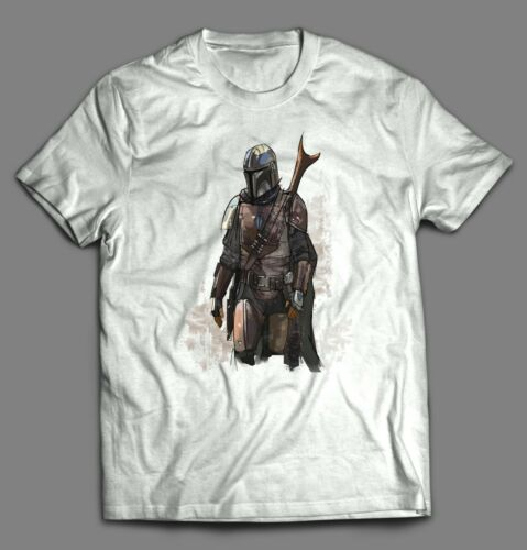 THE MANDALORIAN CUSTOM OLDSKOOL T-SHIRT* MANY SIZES