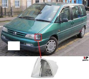 Para-Peugeot-806-94-98-Nuevo-Blanco-Lampara-Luz-indicadora-del-Guardabarros-Delantero-Izquierda-N-S