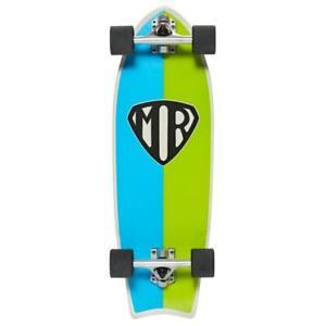 Monopatin skate skateboard completo Cruiser Quiksilver Mark Richards Retro 28x9