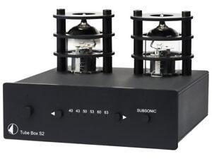 PRO JECT TUBE BOX S2 BLACK STADIO FONO MM/MC GARANZIA UFFICIALE