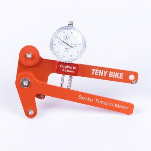 Cycle Spoke Tension Meter Bike Bicycle Wheel Builders Gauge Tool