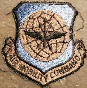 USAF AIR FORCE AIR MOBILITY COMMAND AMC SUBDUED PATCH