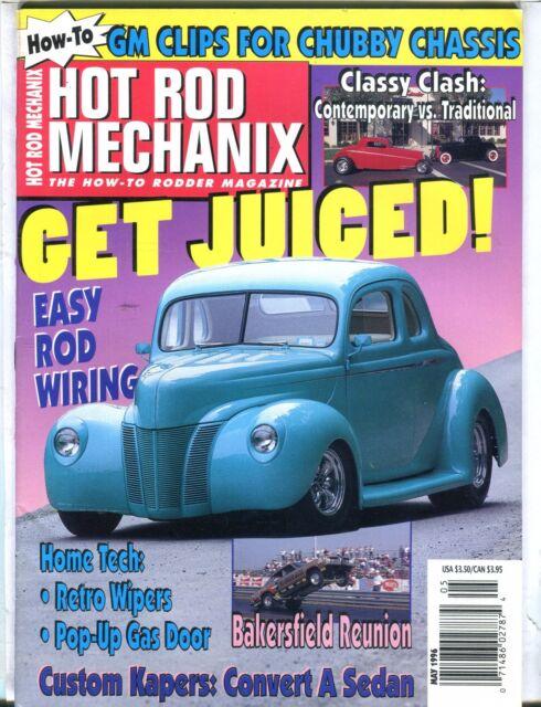 Hot Rod Mechanix Magazine May 1996 Rod Wiring EX No ML 031417nonjhe