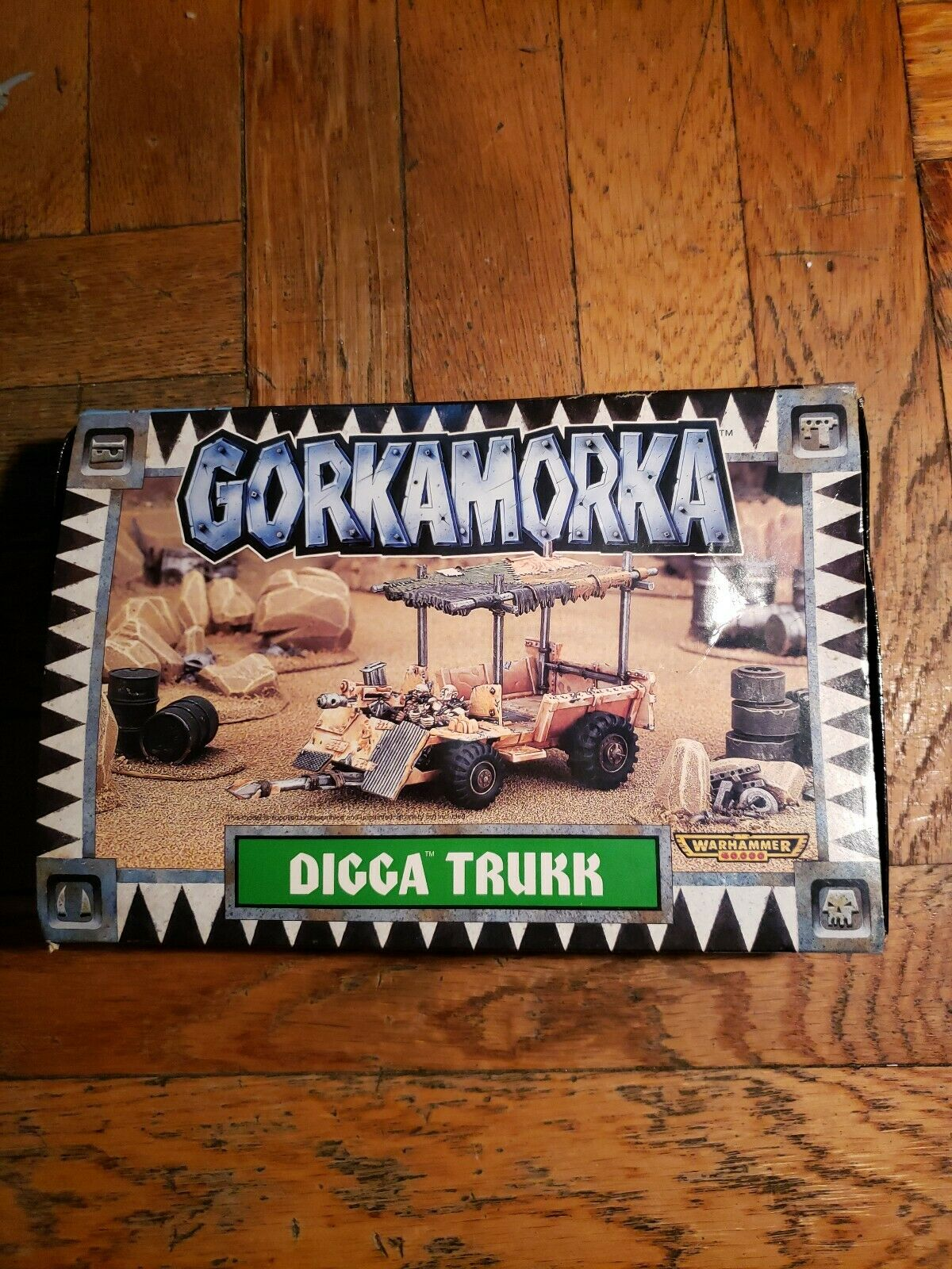 Gorkamorka Digga  trukk Warhammer 40K games workshop avec composant Blister  boutique en ligne