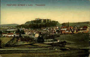 Festung-BITSCH-Lothringen-Frankreich-1818-color-Postkarte-CPA-1-Weltkrieg-War-I