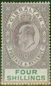 Gibraltar-1903-4s-Dull-Purple-amp-Green-SG53-Fine-amp-Fresh-Lightly-Mtd-Mint-8