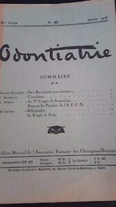 Rivista-Mensile-Odontiatrie-N-43-5-Eme-Anni-1928-ABE