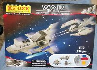Best-lock War Of The Outer Planets Heavy Raider Hr3c Vs Hawk Ha-101 Building Set
