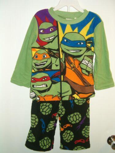 10 NWT Teenage Mutant Ninja Turtles TNT Fleece Pajamas Size/'s 4-6