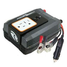 Power Inverter 12V DC to 120V AC 400W Car Battery Portable Electrical Outlet USB
