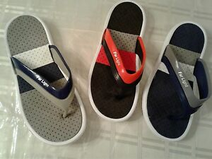 NEW MENS RUBBER  striped WATER BEACH SANDALS