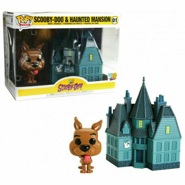 2019, Toy NEUF Haunted Mansion Funko Pop Scooby Doo Town: