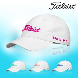 475fab283b7 Titleist Womens Tour Performance Golf Cap Hat TH8AWTPK-9 Sports Mens ...