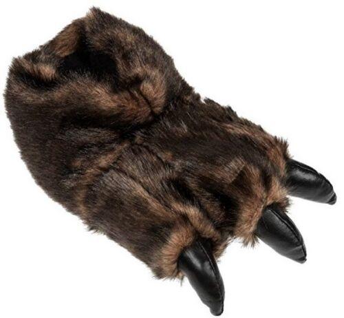 hommes griffes fasching peluche d'ours animaux pantoufles 4045 taille Femmes en pantoufles X8nO0kNwP