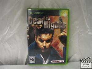 Dead to Rights  (Xbox, 2002)