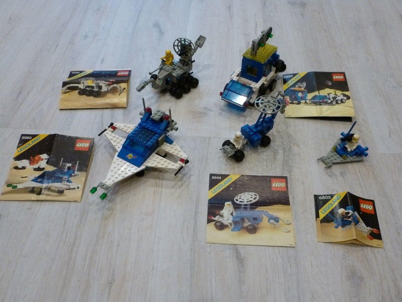 Lego Set Space Classic Galaxy 6803 6844 6880 6890 6927