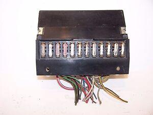 fuse box vw beetle 1303 type 2 1974 1979 ebay rh ebay co uk
