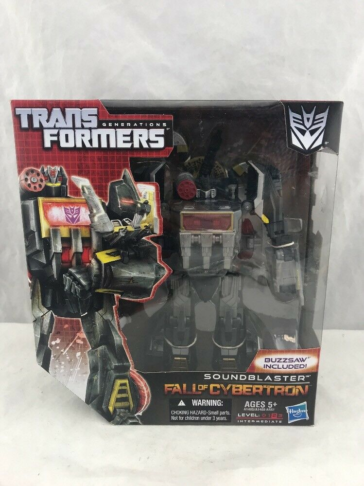 Transformers Generations FOC Voyager Class Soundblaster Fall Of Cybertron MISB