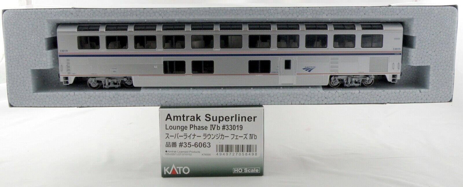 Escala Ho Amtrak súperliner Lounge Coche-fase estadio  33019 - Kato  35-6063