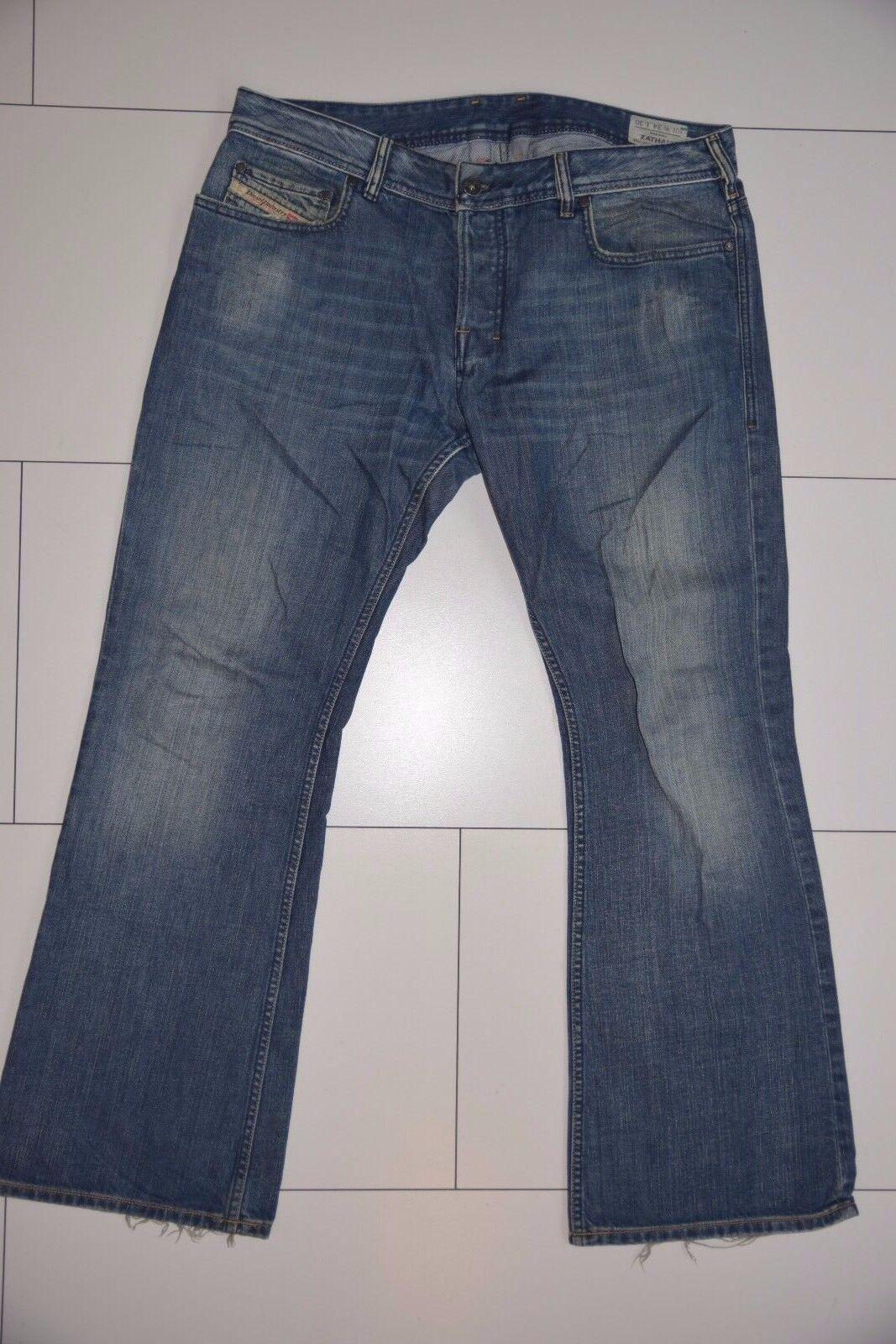 Diesel Jeans Mod. Zathan - dunkelblau - W34 L30 - Schlag - Zustand gut 21117-40