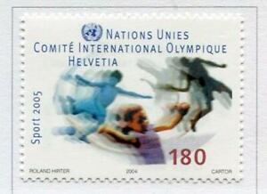 19720-UNITED-NATIONS-Geneve-2005-MNH-Nuovi-Olympic-Comm