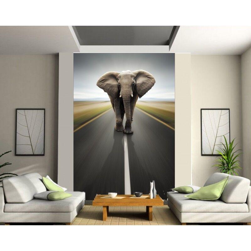 Aufkleber Riesig Deko  Elefant 1306