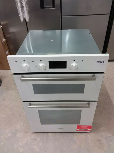 INDESIT Aria IDD 6340 WH 74L Electric Double Oven - White #EDB259224