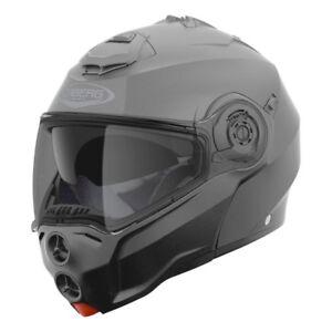 Casco-modular-con-apertura-moto-Caberg-Droid-grigio-titanio-mate-Talla-XS