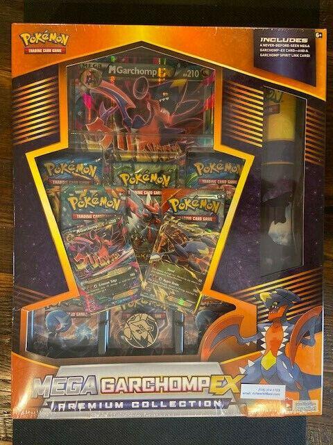 Pokemon Mega Garcomp ex Premium Colección Caja Sellada & Menta sin nave rápida