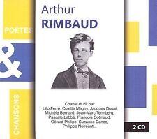 Arthur Rimbaud - Poetes & Chansons [New CD] France - Import