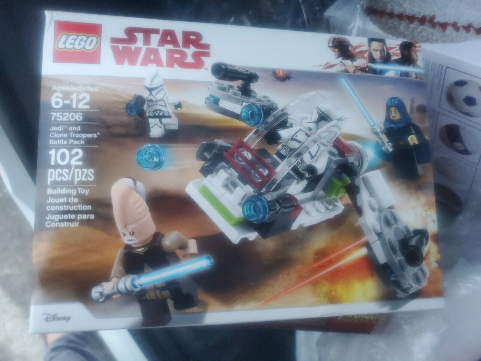 Lego Star Wars 75206 Jedi /& Clone Troopers Battle Pack Barriss Offee Minifigure