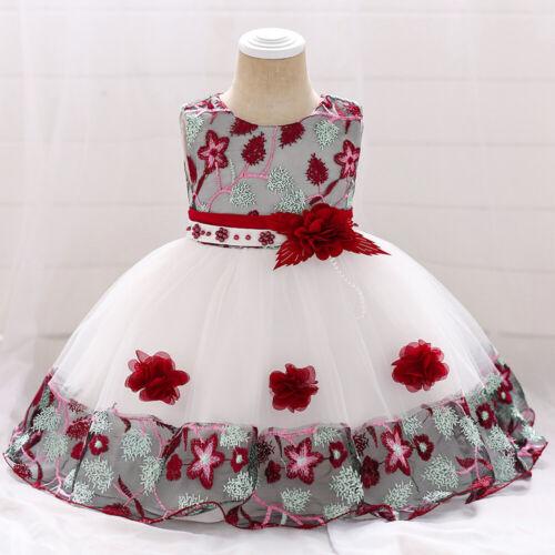 Babykleid Kleinkind Mädchen Kleid Abendkleid Hochzeit Brautjungfer Festkleid